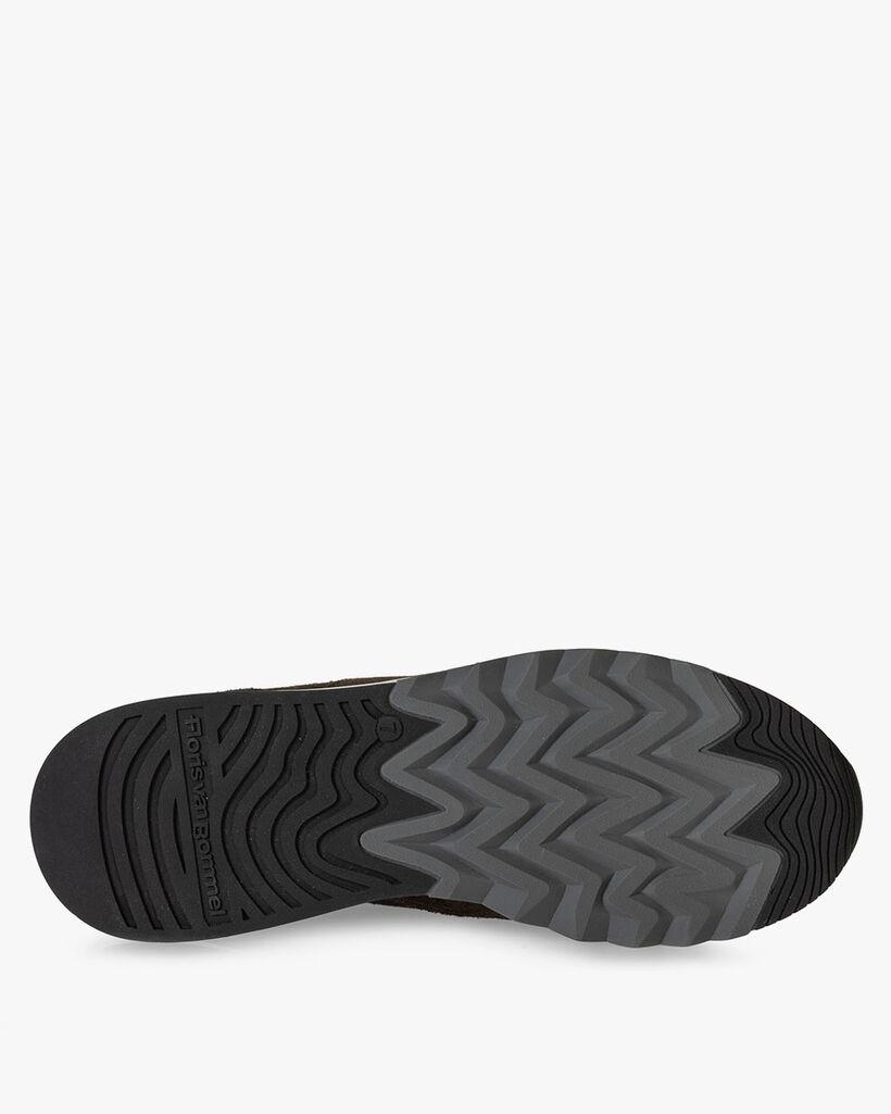Nineti sneaker suede dark green