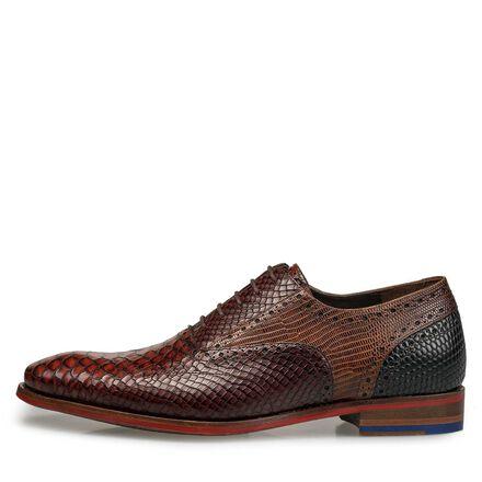 Floris van Bommel men's leather lace shoe