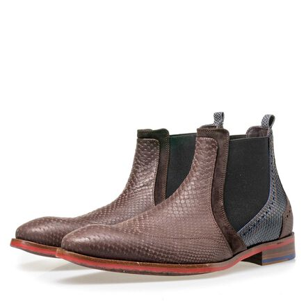 Floris van Bommel men's leather Chelsea boot