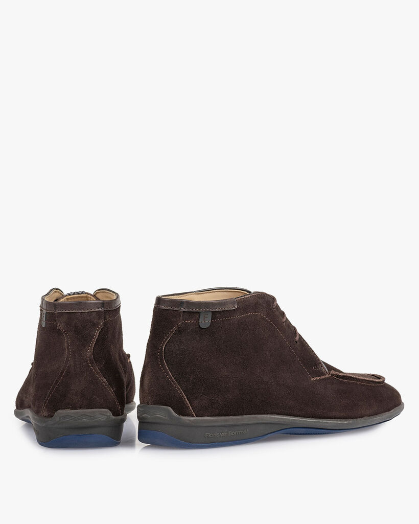 Boot bruin suède