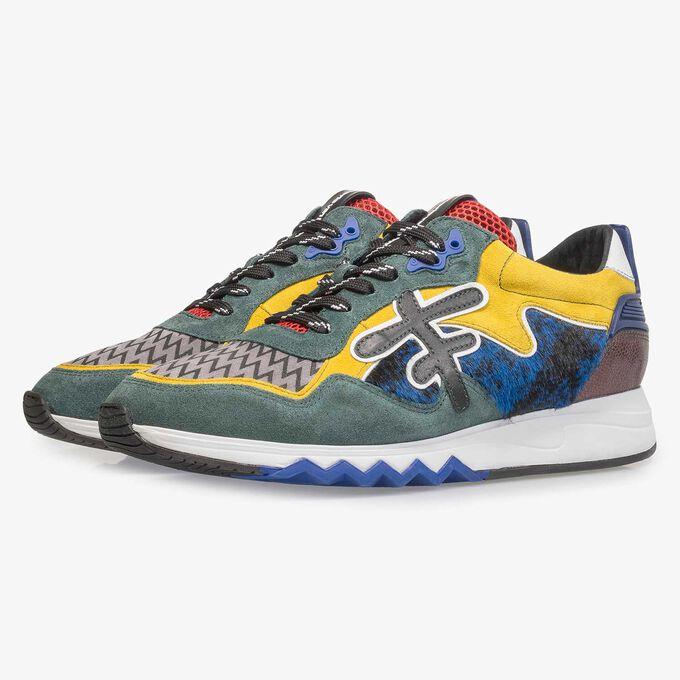 Premium multi-color sneaker