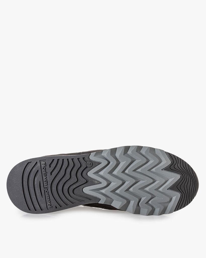 Sneaker zwart nubuck