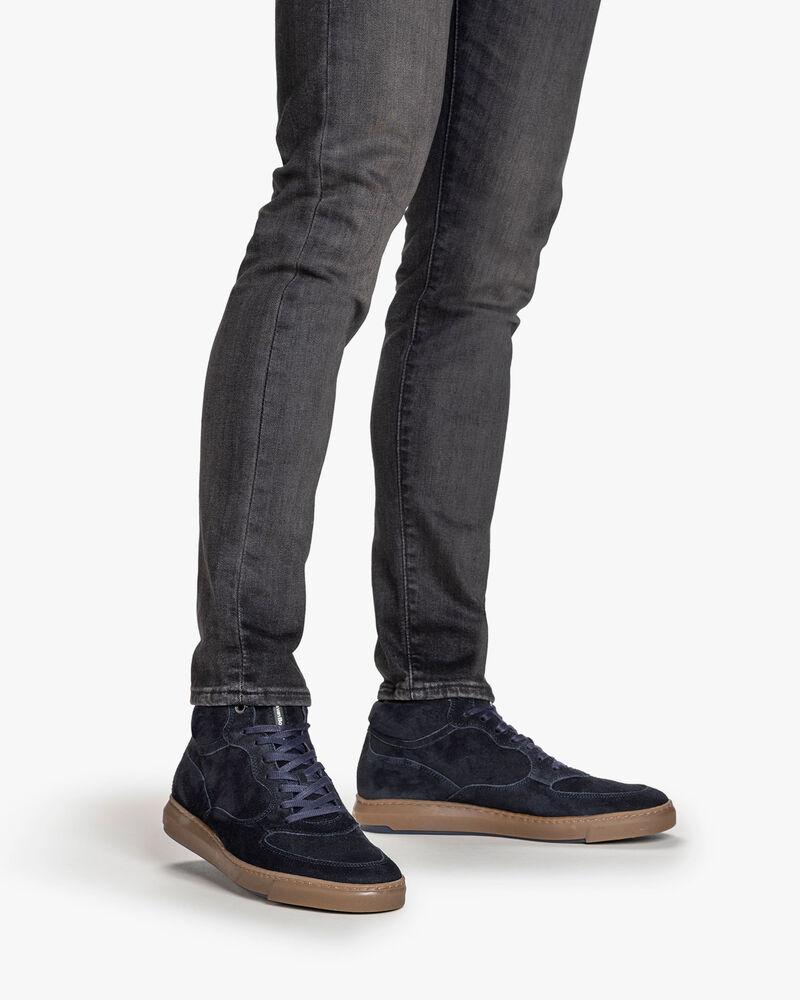 Sneaker suede dark blue