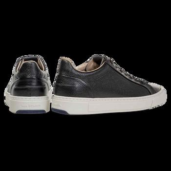 Sneaker printed leather black