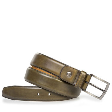 Van Bommel calf leather belt