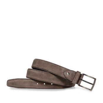 Belt suede taupe