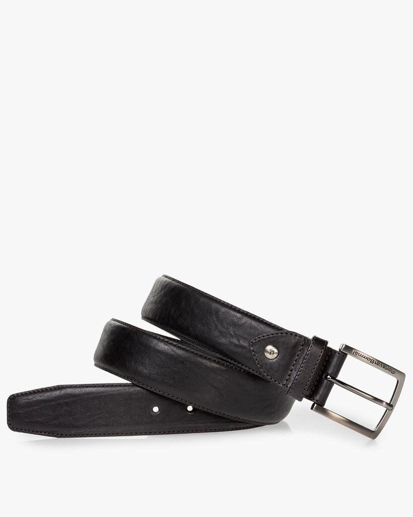 Belt leather black