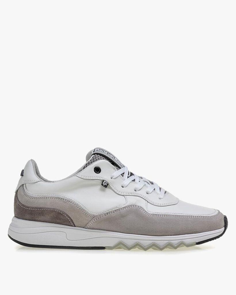 Nineti white leather