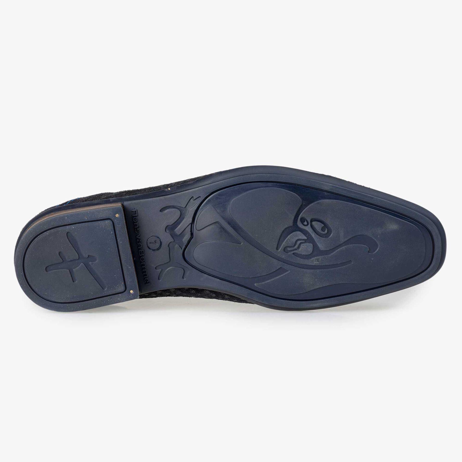 Floris van Bommel blue lace boot
