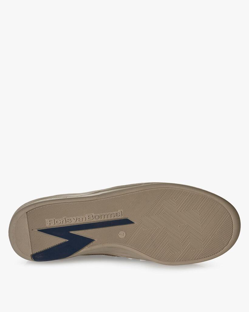 Sneaker suède beige