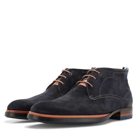 Floris van Bommel men's suede lace boot