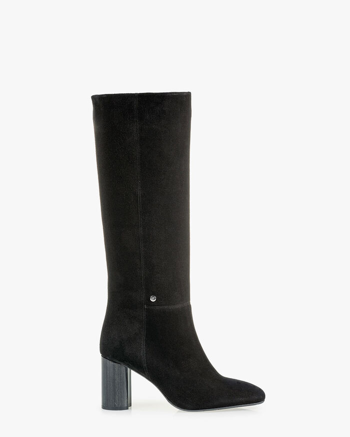Boot suede black