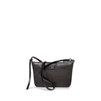 Cross body bag leather black