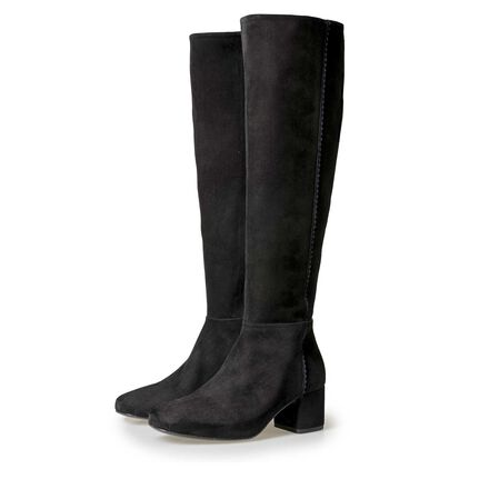 Floris van Bommel women's suede leather boots