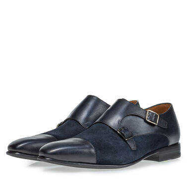 Leather monk strap