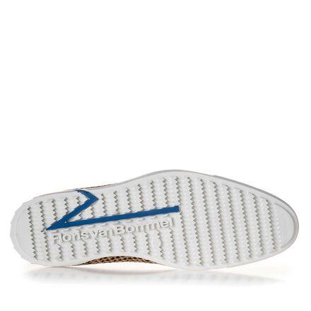 Premium combi-leren sneaker