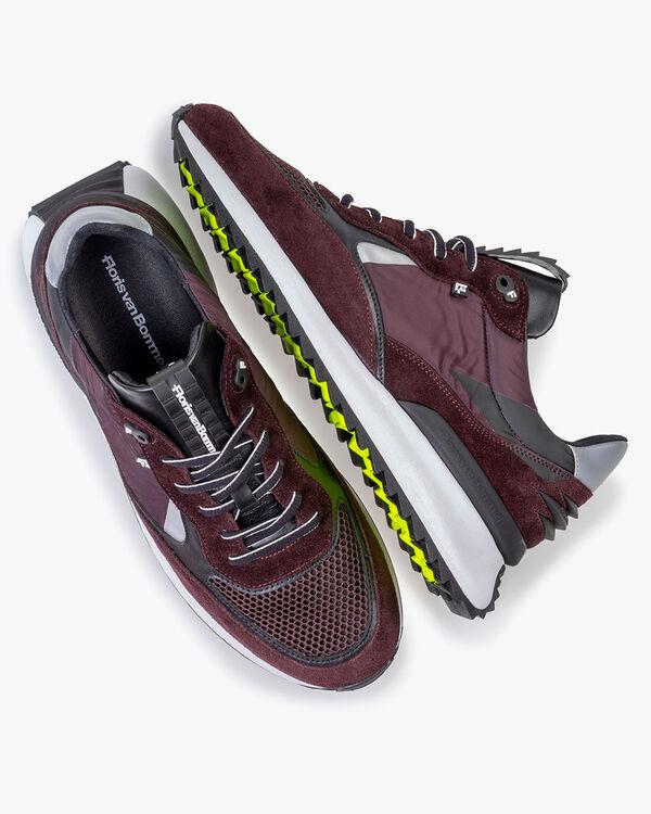 Sharki sneaker dark red
