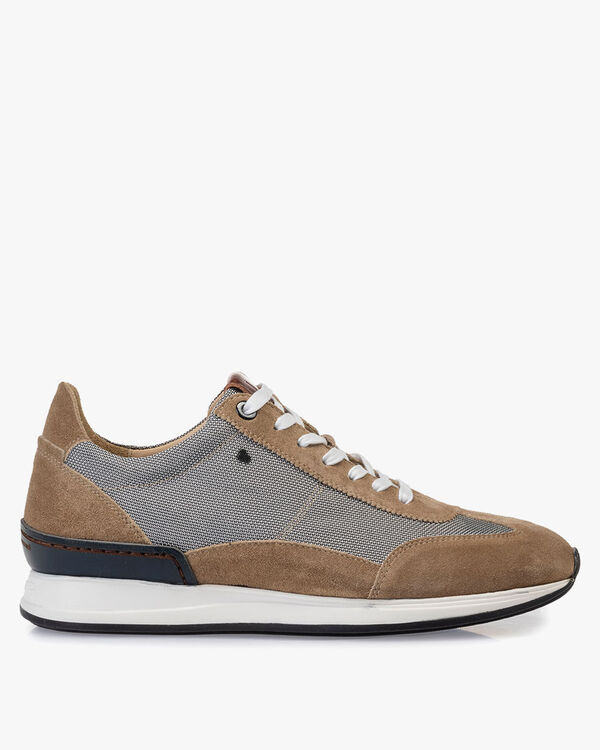 Sneaker textiel grijs