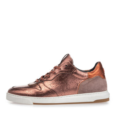 Leather sneaker women