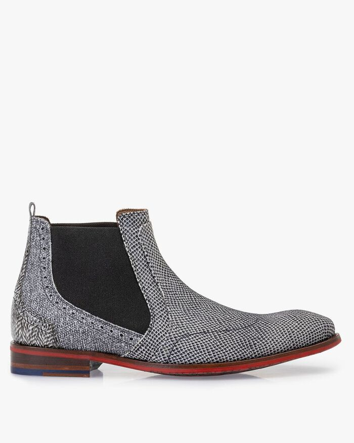 Chelsea boot leer off-white
