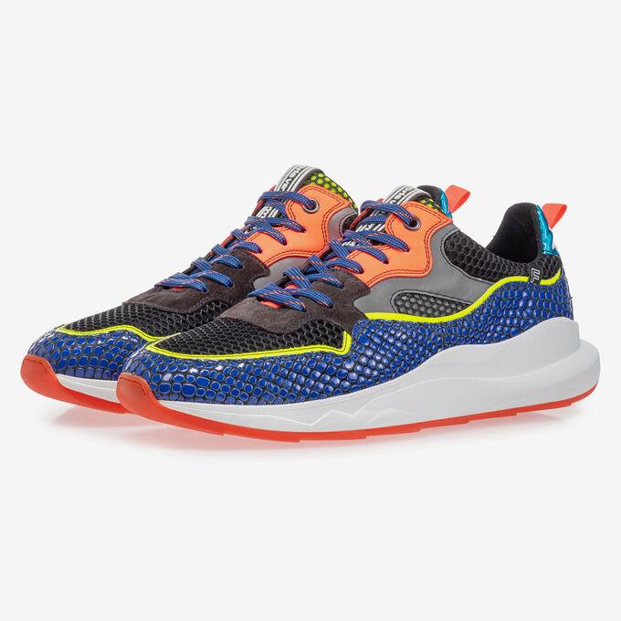 Bulki sneaker electric blauw