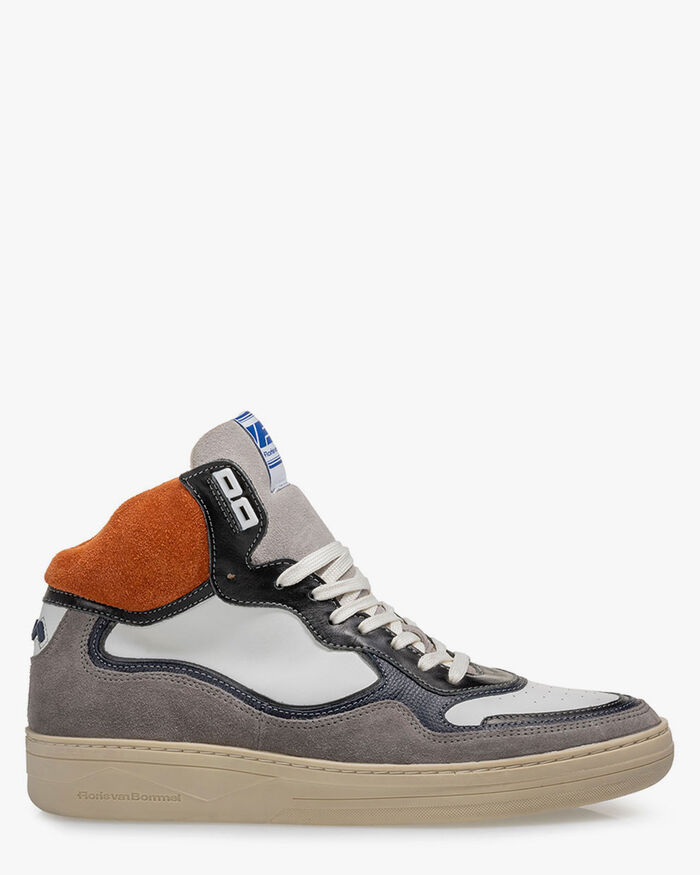 Sneaker suede orange