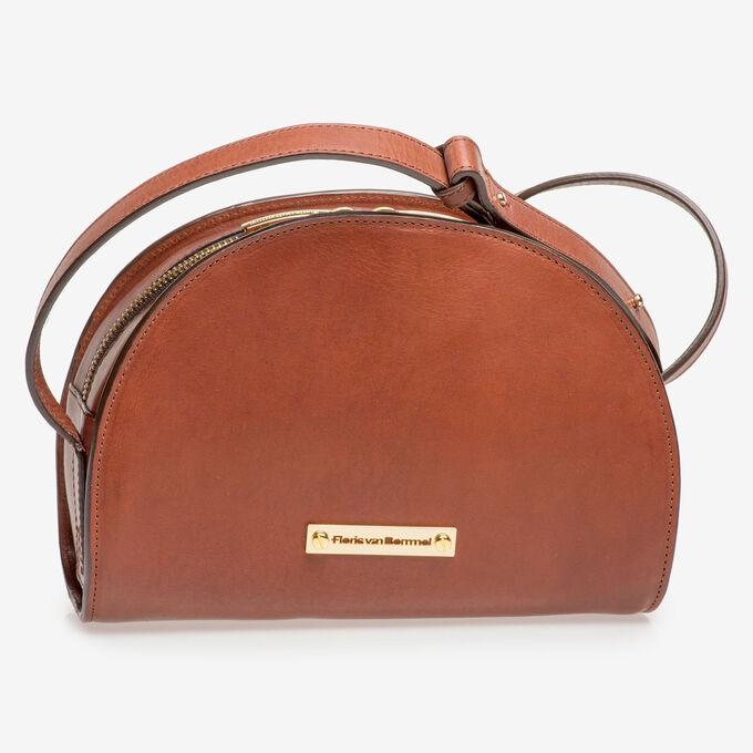 Brown calf leather bag