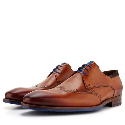 Floris van Bommel leather men's lace shoe