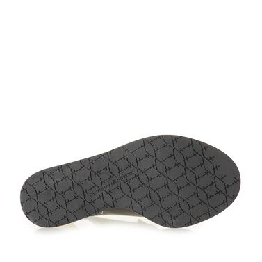 Sandaal met espadrille sleehak
