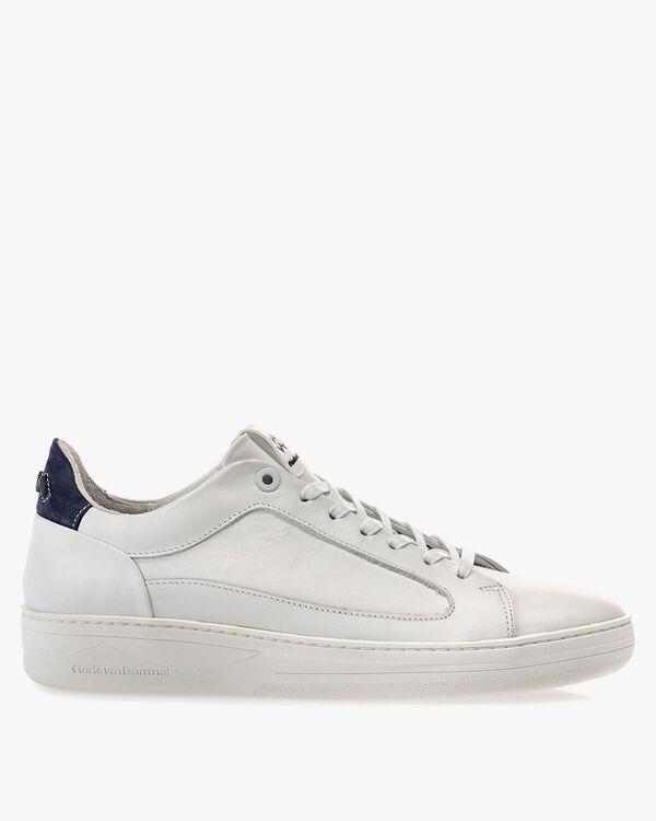Sneaker leer wit