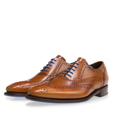 Leren brogue veterschoen
