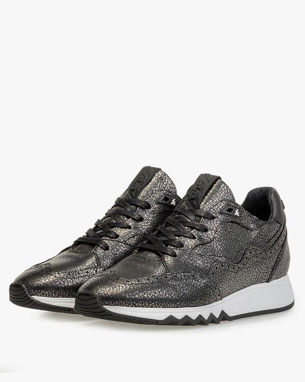 Nineti leather silver