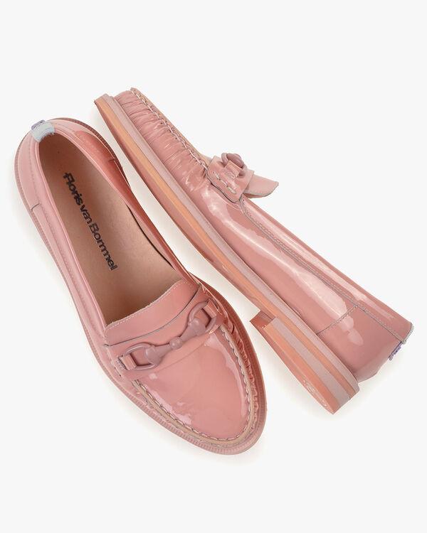 Loafer lakleer roze