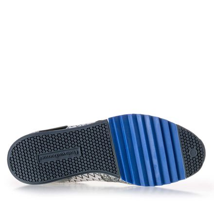 Premium sneaker met print