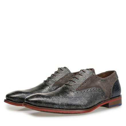 Premium calf leather lace shoe