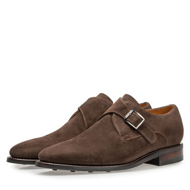 Leather monk strap Van Bommel