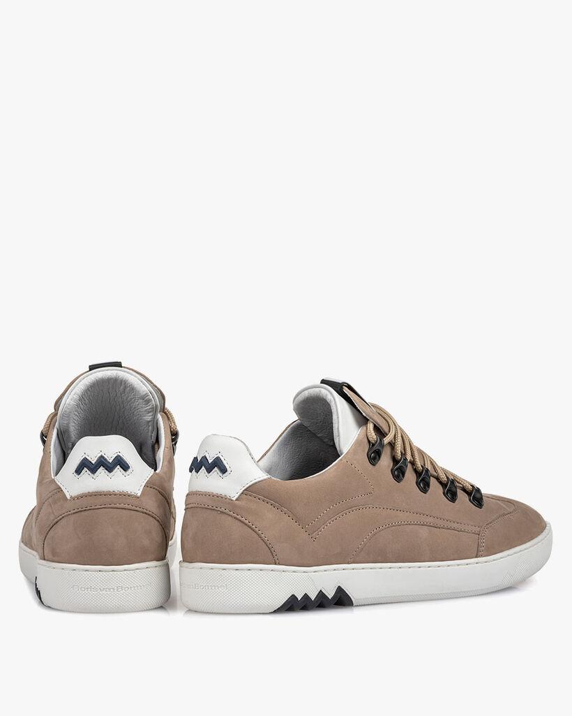 Hiking sneaker nubuck beige