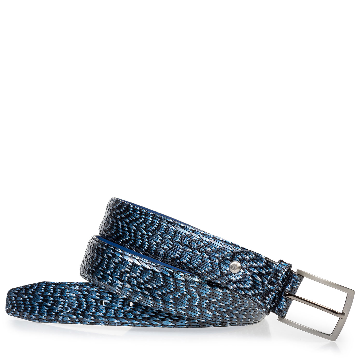 75203/12 - Leather belt with print