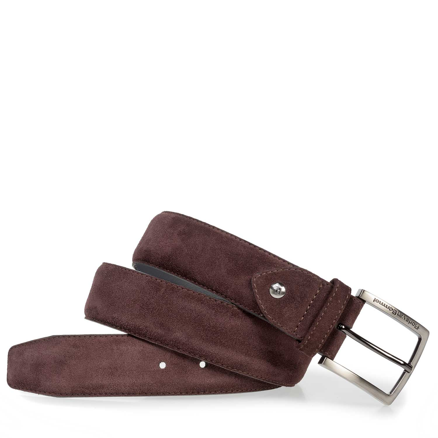 75202/27 - Red suede leather belt