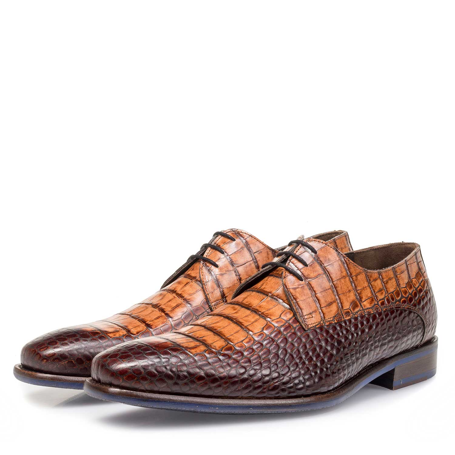 14204/11 - Brown calf leather lace shoe