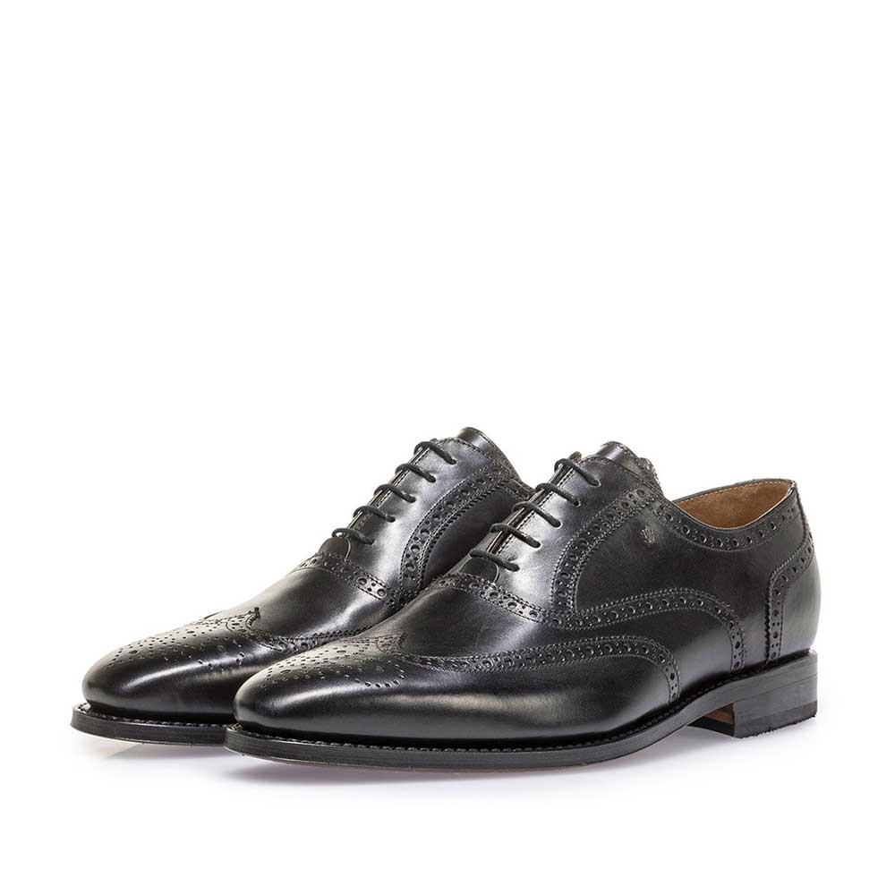 19125/01 - Black calf leather brogue