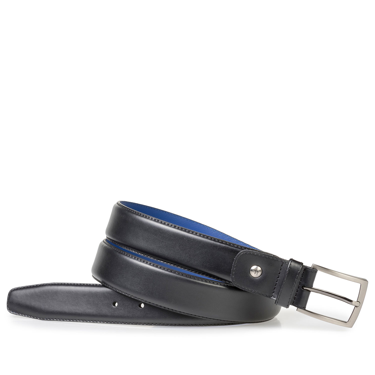 75144/02 - Black leather belt