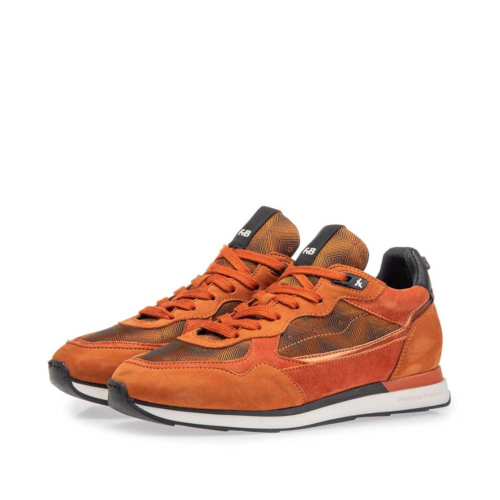 85312/00 - Sneaker nubuck leather rust