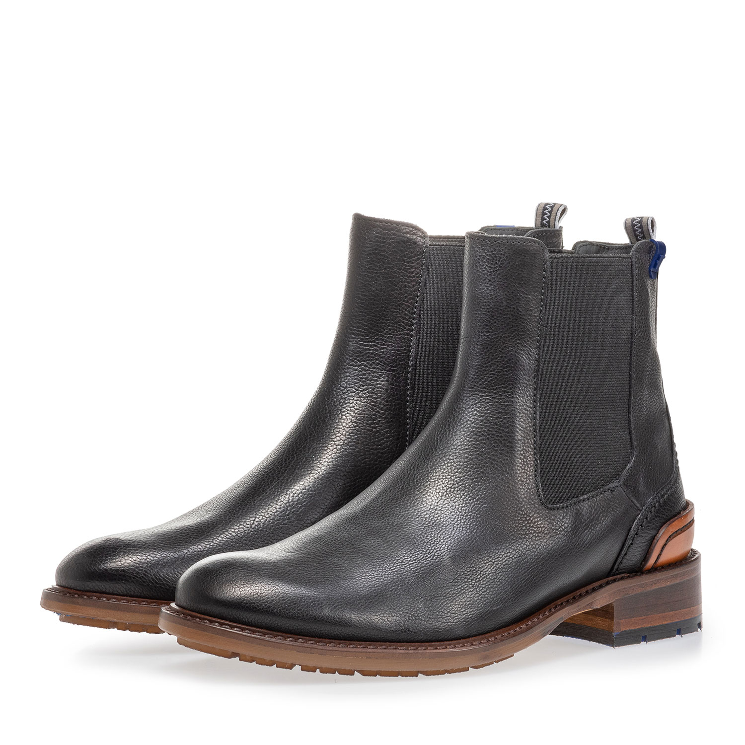 85643/00 - Chelsea boot black calf leather