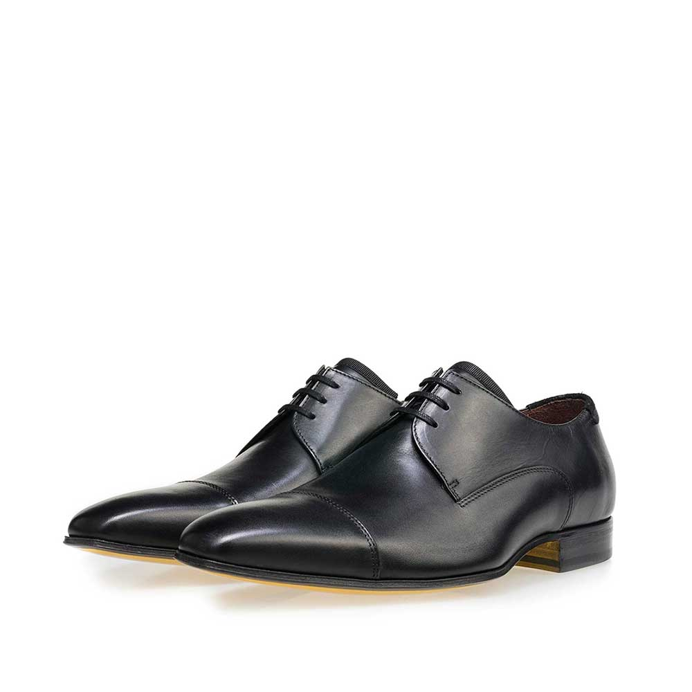 14192/03 - Black calf's leather lace shoe