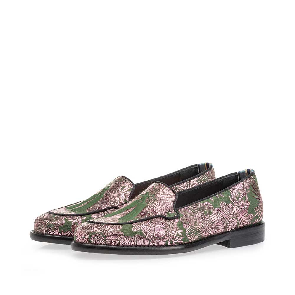 85426/05 - Loafer green with print