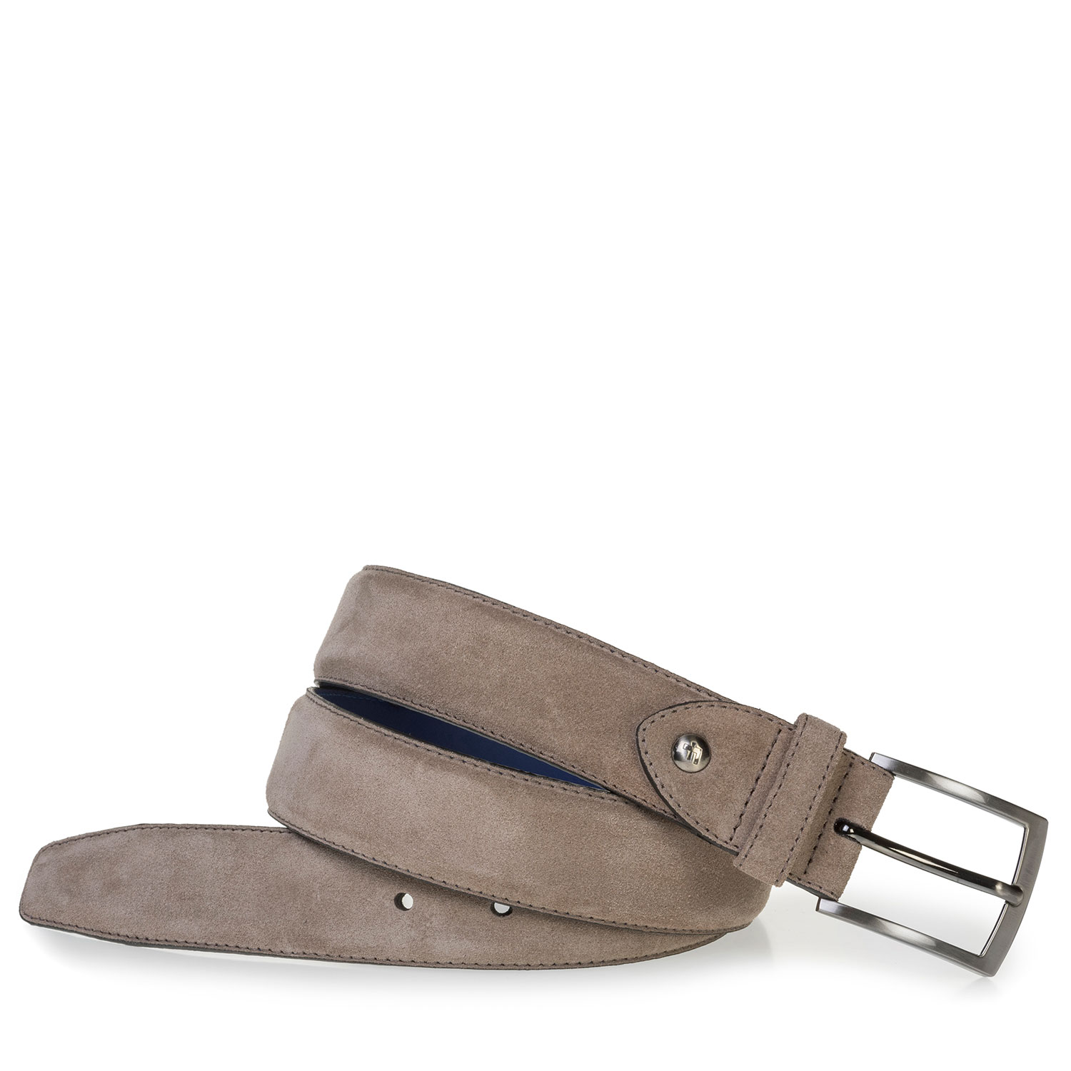 75201/68 - Beige suede leather belt